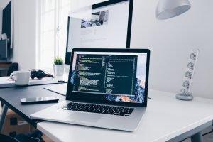 computer, laptop, tech